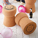 Champagne Cork Stool Gift Of The Year £10 Off