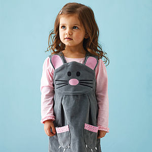 Girl's Mouse Play Dress - children's easter