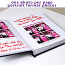 Handmade Photo Booth Guest Book Portrait Format Prints