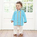 Luca Three Piece Indian Boy's Outfit