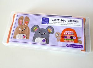 Sew Your Own Egg Cosies - easter homeware