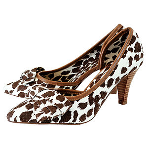 Hiari Animal Print Court Shoes *RRP £80* - shoes