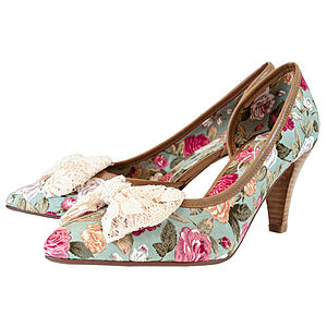 Rose Floral Court Shoes *RRP £80* - shoes & boots