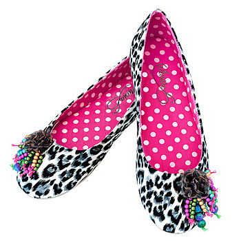 Chika Beaded Ballerina Slippers RRP £29.99