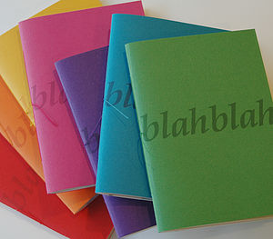 Blah Blah Notebook - gifts for her