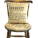 'Serenity' Definition Cushion Cover