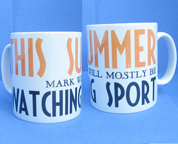 Personalised 'Will Mostly Be' Ceramic Mug