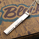 Sterling Silver Men's Pendent
