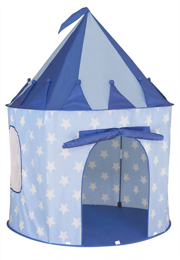 Star Blue Play Tent  sc 1 st  Notonthehighstreet.com : play tents for boys - memphite.com