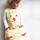 Baby Chick Easter Girls Dress Up