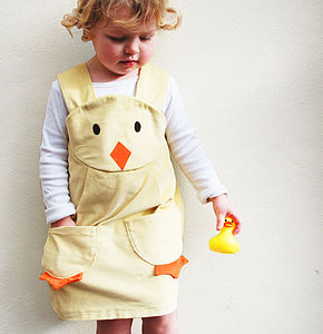 Girl's Easter Chick Dress - parties