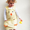 Girl's Easter Chick Dress