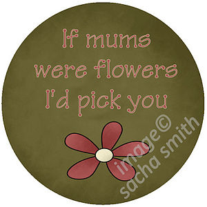 Mother Pocket Mirror Or Magnet