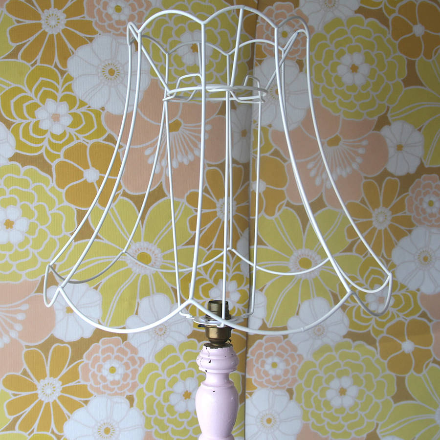 Scallop bell diy lampshade frame by folly glee scallop bell diy lampshade frame keyboard keysfo Images