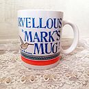Alice's Wordy Mugs