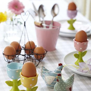 Ceramic Tulip Egg Cup
