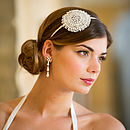 Greta Jewelled Side Headdress