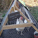 Personalised Hen House Sign