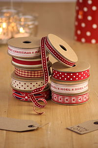 Christmas Ribbons - cards & wrap
