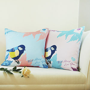 Love Letter Vintage Cushion