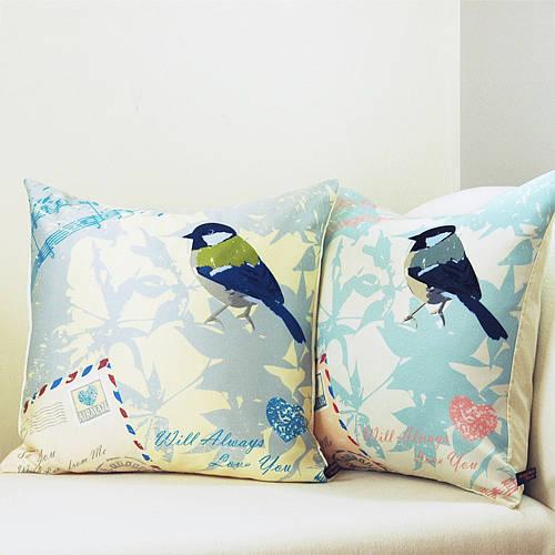 Airmail With Bird Cushion