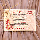 Antique Roses - Postcard Invitation