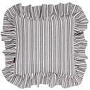 Palermo Stripe Ruffle Cushion