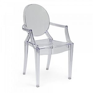 Louis Style Ghost Armchair - furniture