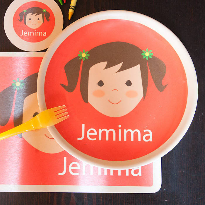 Personalised Face Placemat & personalised face placemat by kisses and creations ...