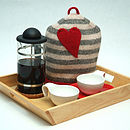 Wool Love Heart Tea Cosy