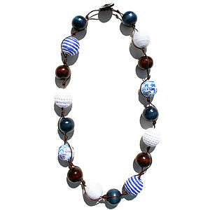 Coastal Blues Necklace - necklaces & pendants