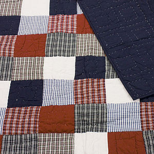 McKenzie Patchwork Quilt - soft furnishings & accessories