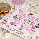 Tea Party - Save the Date Postcard