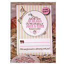 Tea Party - Save the Date Magnet Postcard