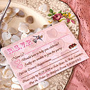 Tea Party - RSVP Card
