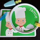 Personalised Chef Placemat