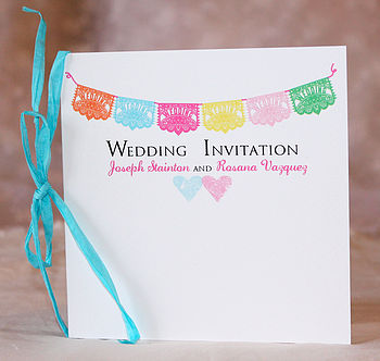 Mariachi - Square Card Invitation
