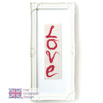 Vertical Love Wall Art