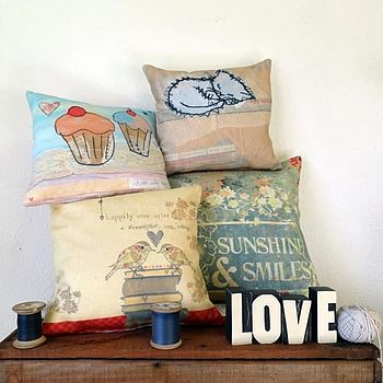 Personalised Printed Cushion