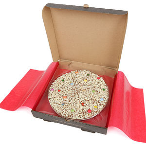 Jelly Bean Jumble Chocolate Pizza - chocolates