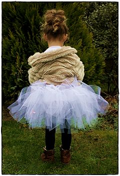 princess white tutu