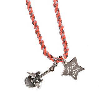 Personalised Rock Star Necklace
