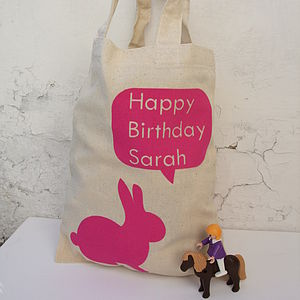 Personalised 'Happy Birthday' Child's Bag - children's accessories