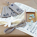 wrap music tags ribbon delightful living