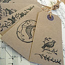 vintage sheet music buttons tags paper