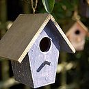 Minature Decorative Bird House