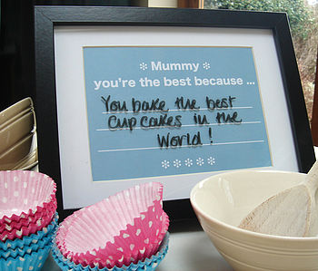 Mother's Day Changeable Message Print