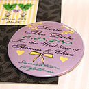 Bohemian Garden - Save the Date Magnet Postcard