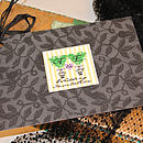 Bohemian Garden -Postcard Invitation
