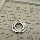 Names Necklace Charm